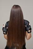 zły włosy Zdjęcie Royalty Free