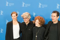 Z ławą przysięgłych członkowie 68th wydanie Berlinale Ekranowy festiwal 2018 Zdjęcie Stock