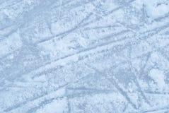 Z śnieżną teksturą lodowy lodowisko obraz stock