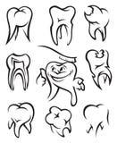 zęby Ilustracji