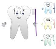 ząb royalty ilustracja