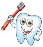 Ząb maskotka Obrazy Royalty Free