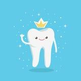 Ząb w koronie Obrazy Royalty Free