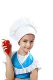 Z Bell Pieprzem szef kuchni szczęśliwy mały kucharz Obraz Royalty Free