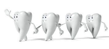 Zębu charakter Obrazy Stock