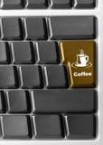 Z czerwienią komputerowa klawiatura Fotografia Royalty Free