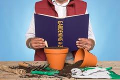 A-Z de jardinage Photographie stock libre de droits
