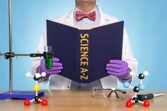 A-Z de la ciencia Foto de archivo libre de regalías
