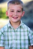 Z Dimples duży Uśmiech Fotografia Stock