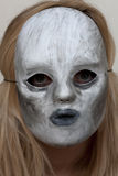 Zła dnia stresu maska Obrazy Royalty Free