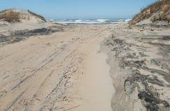 Z drogi plaży dostępu Obraz Royalty Free
