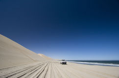 Z Drogi przygody 4x4, Namib Pustynia, Namibia Zdjęcia Stock