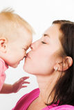 Z dzieckiem szczęśliwa matka zdjęcia royalty free