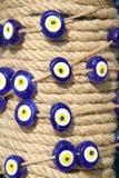 Złego oka koralik Zdjęcia Stock