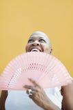 Z fan ja target561_0_ dojrzała afrykańska kobieta, zdjęcia royalty free