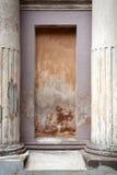 Z filarami architektoniczny szczegół zdjęcie royalty free