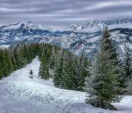 Z GÄ™siej Szyji, Tatras alto, Polônia Foto de Stock Royalty Free