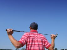 z golfa czekać Zdjęcia Stock