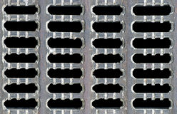 Z grilla wzorem rusztowy metalu tło Zdjęcie Stock
