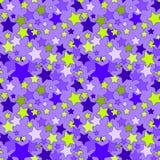 Z gwiazdami bezszwowy tło Obraz Royalty Free