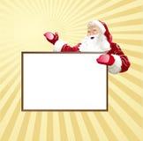 z karciani boże narodzenia Santa Fotografia Royalty Free