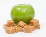 Z Karmel zielony Apple zdjęcie stock