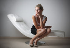 Z klasą bizneswoman Fotografia Stock