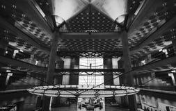 Z klasą główny sala wnętrze popularny muzeum Islamska sztuka w Doha mieście, Katar Fotografia Stock