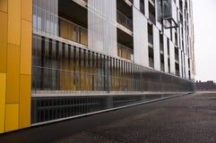 Z klingerytem nowożytny Budynek Zdjęcia Royalty Free