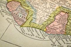 Z kości słoniowej wybrzeże Afryka Obrazy Stock