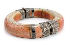 Z kości słoniowej bransoletka Zdjęcia Royalty Free