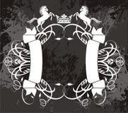 Z koniami galanteryjny sztandar Fotografia Royalty Free