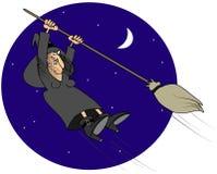 Z kontrolnej czarownicy ilustracja wektor