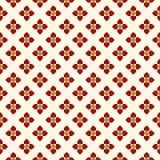 Z kwiecistym motywem bezszwowy wzór Minimalistyczny geometryczny druk z kwiatami Sprawdzać abstrakcjonistyczny tło ilustracja wektor
