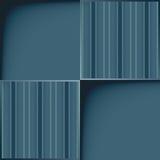 Z linią błękitny szablon wzór. Fotografia Royalty Free