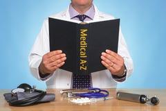 A-Z médico Imagem de Stock
