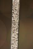 Z małymi diamentami Glas tubka Obraz Royalty Free