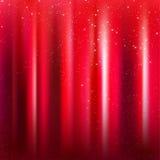 Z Magicznym sceny czerwony tło Błyska Zdjęcie Stock