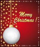 Z najlepszymi życzeniami piękny ornament. Fotografia Stock