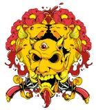 Zło maska ilustracja wektor