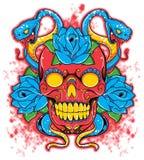 Zło maska royalty ilustracja