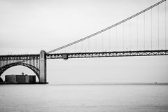 Złoci wrota most Zdjęcia Stock
