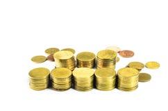 Złocista moneta Fotografia Stock