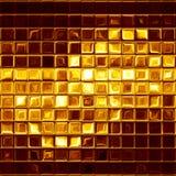 Złocista mozaika Obrazy Stock