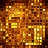 Złocista mozaika Obraz Royalty Free