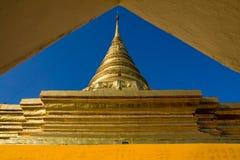 Złocista pagoda Obraz Royalty Free