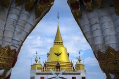 Złocista pagoda Fotografia Royalty Free
