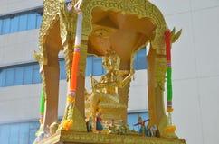 Złocista statua Brahma Obrazy Royalty Free