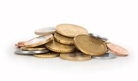 Złocistej monety sterta Obraz Royalty Free