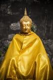 Złocisty buddah Thailand Fotografia Royalty Free
